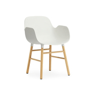 602762 form armchair whiteoak 1