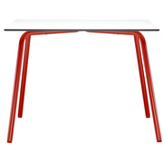 Thonet tisch s 1040  thonet all seasons fs1 3 tomatenrot