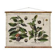 Coole Vintage-Wandkarte 'Kaffee & Tee'