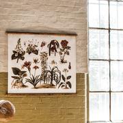 Vintage 'Zimmerpflanze' für die Wand