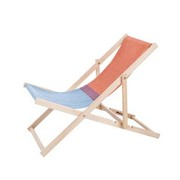 Beachchair redblue weltevree lrg