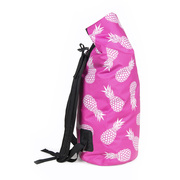 Rothirsch pineapple dry backpack pink side