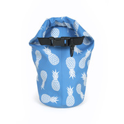 Rothirsch pineapple mini drybag blue back