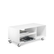 Weisses TV-Möbel/Sideboard 'R 104N'