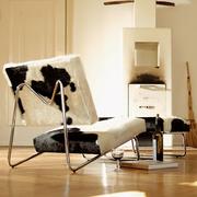 Richard lampert lounge chair kuhfell