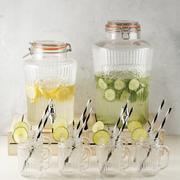 Kilner vintage dispenser and handled jars