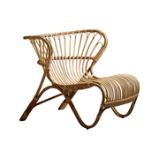 'Fox Chair' aus Rattan