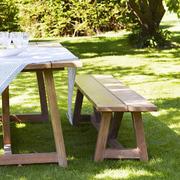 Holzbank 'George' für den Garten