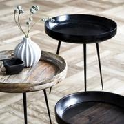 'Bowl' Beistelltisch aus Mangoholz