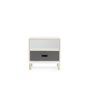 601054 kabino bedside table grey 1