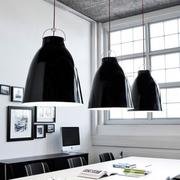 Pendellampe caravaggio schwarz lightyears p3 esszimmer