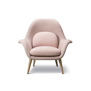 Easy Chair 'Swoon' in Stoff