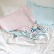 Naughtylinen bedding mixandmatch baby blue rose 01 grande