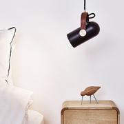 Le klint carronade pendelleuchten schlafzimmer schwarz ambiente