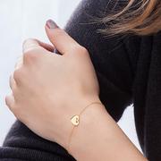 Wo die Liebe hinfällt: Armband 'Heart'