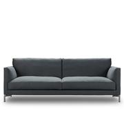 Sofa 'Mission' in Leinen