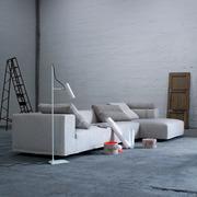 Grosses Sofa 'Baseline' mit Chaiselongue