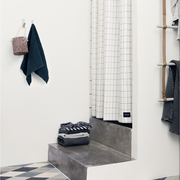 Fermliving grid shower curtain ferm living