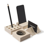 Volumes wooden architecture stationery
