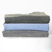 Stonewash-Badetuch aus Baumwolle