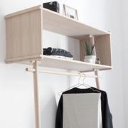 Anlehn-Garderobe 'Töjbox'