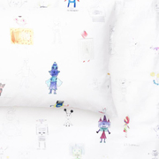 Zigzagzurich kids zigzagzurich kids robot land duvet covers and pillows by class 1 3 havelland school 1 1024x1024