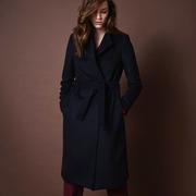 Frauenbekleidung maentel wolle blau adele oxfordblue 1