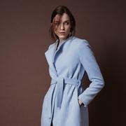Frauenbekleidung maentel wolle blau adele silverblue 1