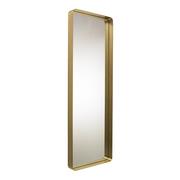 Cypris mirror brass 180x60