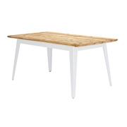 Ess- oder Arbeitstisch aus Bauholz