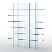 Das Regal aus Glas