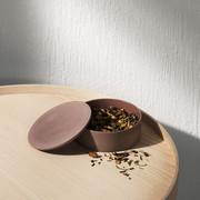 Menu keramikdose taupe 1