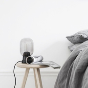 Einzelstück: 'Amp Lamp' in Rauchschwarz