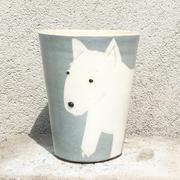 Kaffeetasse mit Hund