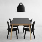Tisch 'Slice' mit Linoleum