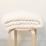 Strickset schafwolle dekor udon blanket xxl 04