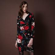 Frauenbekleidung kleider polyester blumen lucia rosary 1