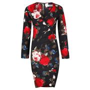 Frauenbekleidung kleider polyester blumen lucia rosary 4