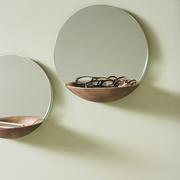 Spiegel mit Schale 'Pocket Mirror'