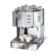 Kleine 'Quick Mill'-Kaffeemaschine