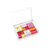 Transparente Schmuckbox