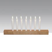 Kerzenleuchter 'Brennholz'