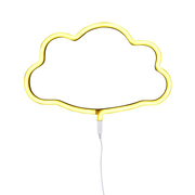 A little lovely company nordkinder neon leuchtroehre wolke yellow