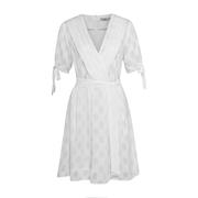 Frauenbekleidung kleider polyester weiss yasmin whitelace 3 1
