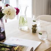 Wasserglas im Set von 'Glasi Hergiswil'