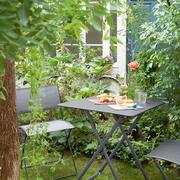 2er Set Gartenstühle 'Plein Air' in Carbon