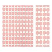 Plastic rug anna pink