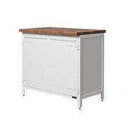 Einzelstück: Küchenschrank 'Basic' in Weiss