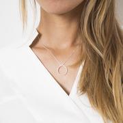 Zeitlose Halskette 'Tri'
