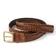 Plaited leather belt.tif